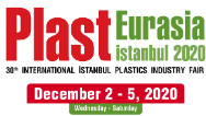 PLAST EURASIA ISTANBUL 2020: 30-я международная выставка пластмассовой промышленности