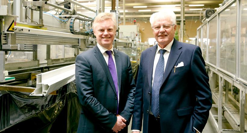 Генеральный директор компании «Примо Финляндия» и бывший управляющий директор «Примо Россия» Яри Лехтимяки и председатель Совета директоров Группы «Примо» Флеминг Грюннет. Фото: Primo