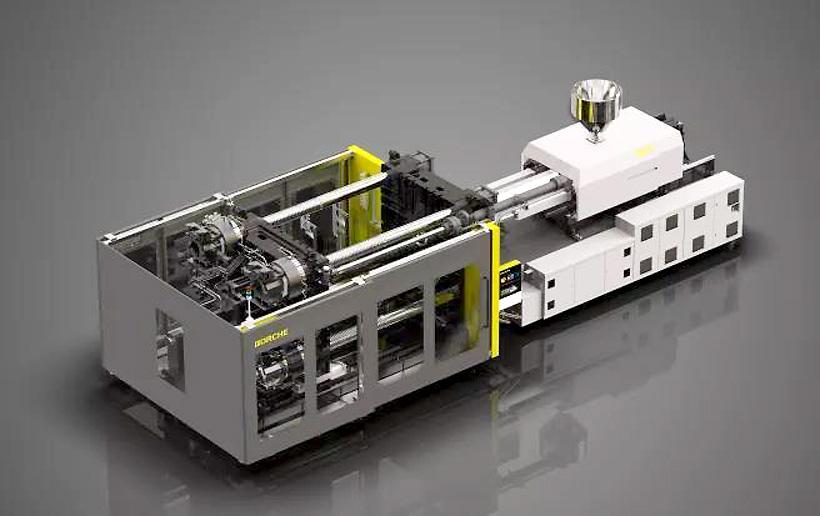Умная машина BORCHE Machinery на Chinaplas 2019  серии BU с усилием смыкания 900 т