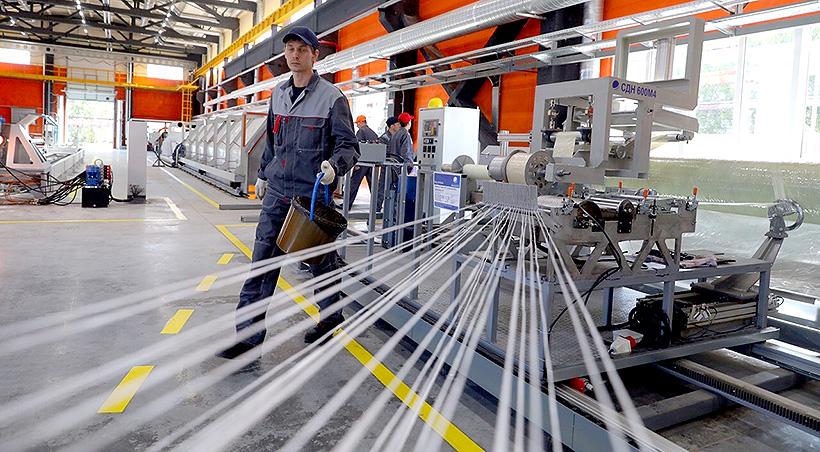 Производство стеклопластиковых труб открыли в Нижегородской области