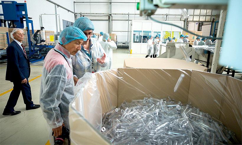 «Балтика» и «Европласт» намерены развивать переработку ПЭТ-упаковки