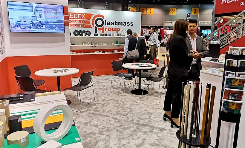 Plastmass Group на международной выставке пищевого оборудования и технологий ProcessExpo-2019 в США (Фото: Plastmass Group)