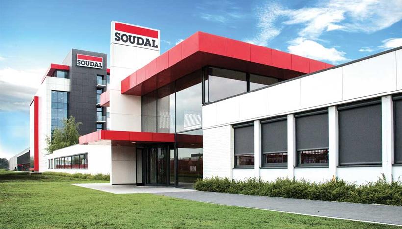 Soudal — самый крупный мировой производитель полиуретановых аэрозольных пен, герметиков, клеев и кровельных уплотнителей
