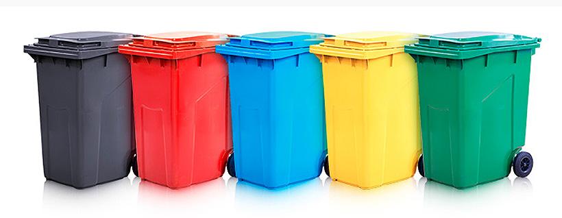 Инновационные мусорные контейнеры объемом 360 л Тара.ру