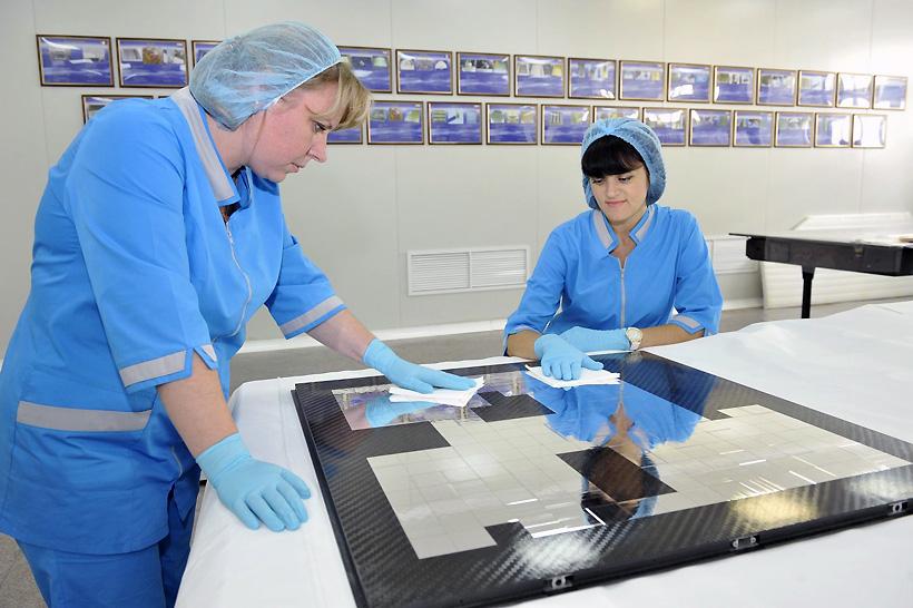 «Технология» поставила высокотехнологичные композитные изделия для космической отрасли