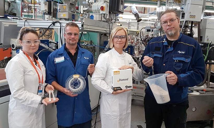 VTT совместно с Carbodeon разработала способы равномерного распределения наноалмазов