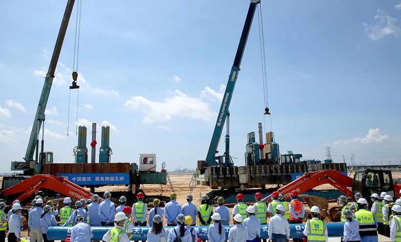 BASF объявил о начале работ по сборке проекта Verbund в городе Чжаньцзяне (Гуандун, Китай)