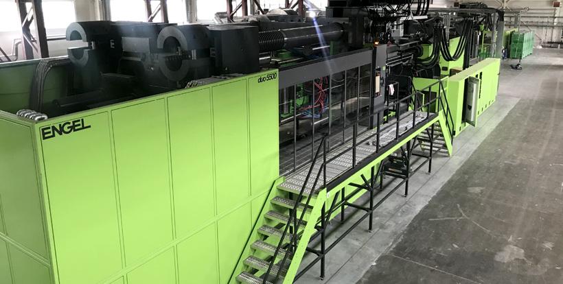 Второй самый большой в России ТПА ENGEL duo с усилием смыкания 5500 тонн на заводе «Ай-Пласт» в Азове (iPlast)
