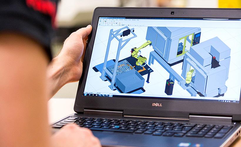ROBOGUIDE – программа, с помощью которой можно моделировать движение роботов FANUC и весь производственный процесс