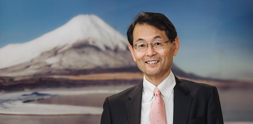 Шиничи Танзава, президент и генеральный директор FANUC Europe Corporation
