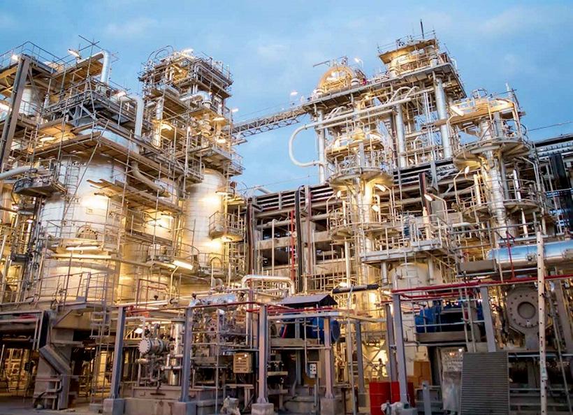 Завод SOCAR Polymer по производству полиолефинов. Фото: Report.az