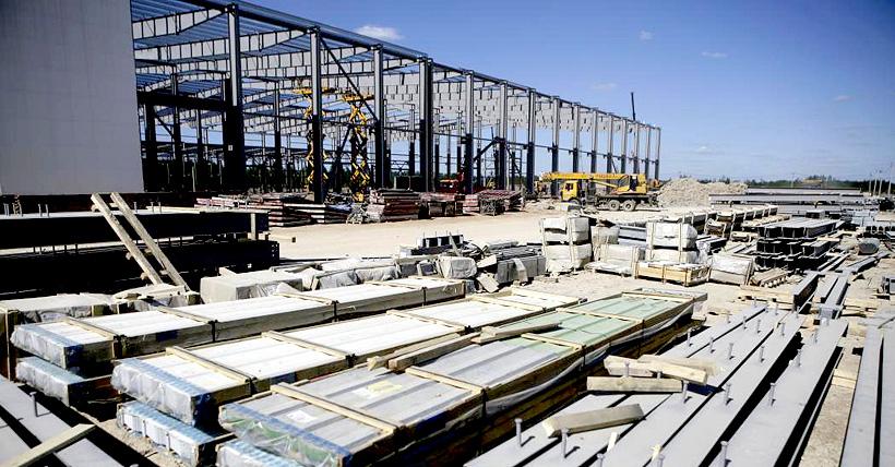 Завод по производству БОПЭТ-пленки «Титан-Полимер»в ОЭЗ «Моглино», июнь 2020г. Фото: Андрей Степанов