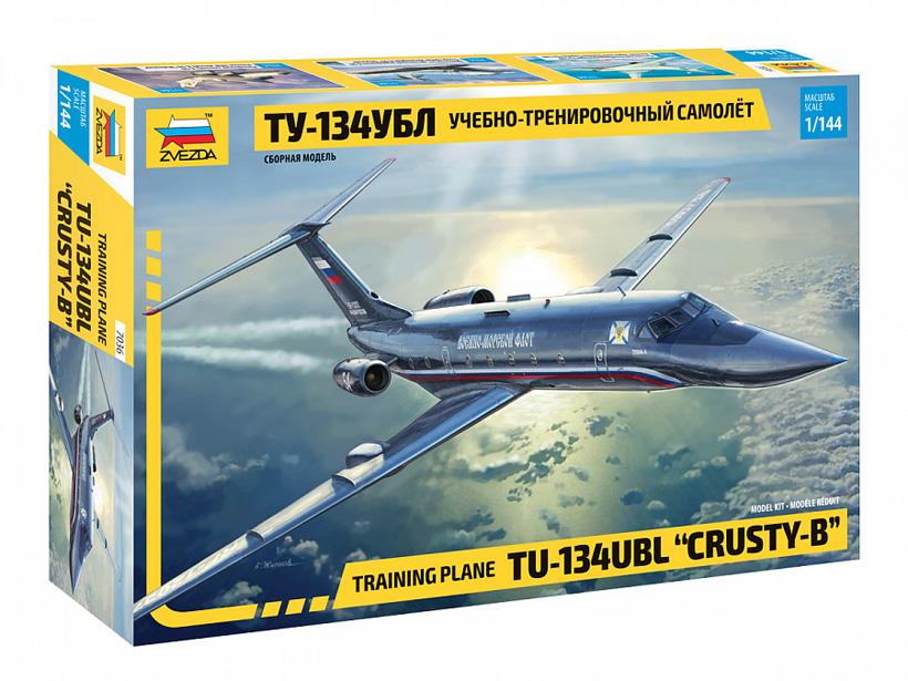 Ту-134УБЛ – учебно-тренировочный самолёт, разработанный в ОКБ Туполева. Фото:
