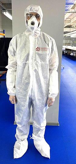 Защитный комбинезон для медицинского персонала «Промкомплектация». Фото: mosreg.ru