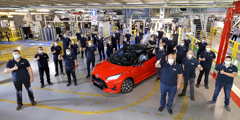 Toyota Motor увеличила мощности по выпуску автокомпонентов из пластмасс во Франции