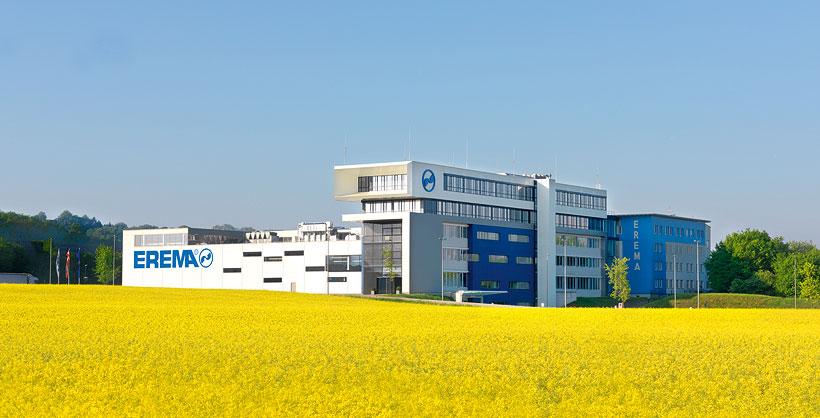 Головной офис EREMA в городе Ансфельден, Австрия
