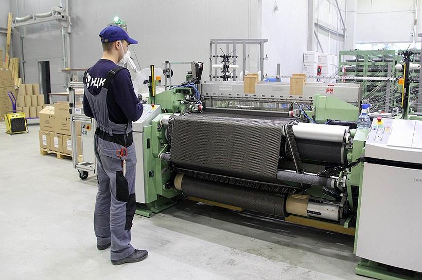 Цех НЦК по изготовлению тканей на основе углеродного волокна