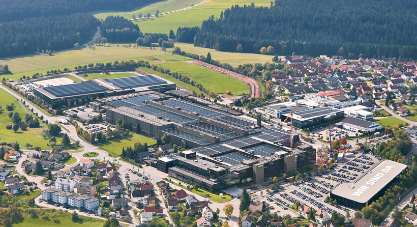 Производство термопластавтоматов ARBURG осуществляется исключительно на головном немецком заводе в Лосбурге