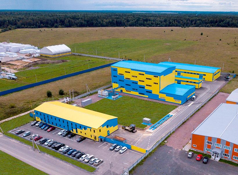 Производственные корпуса группы компаний «Аттика» в Ленинградской области