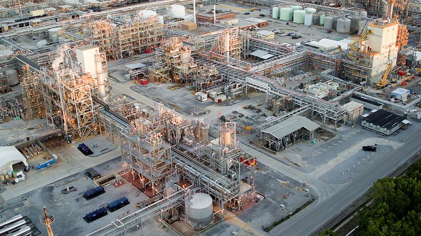 BASF реализует программу увеличения мощностей по выпуску МДИ на своем заводе Verbund в США