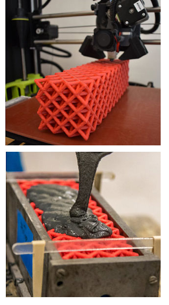 Ученые Berkeley применили технологию 3D-печати для производства полимерной решетки
