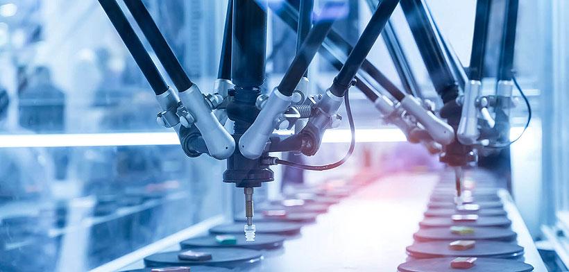 Дельта-робот компании «Битроботикс», производимый в особой экономической зоне «Технополис Москва»