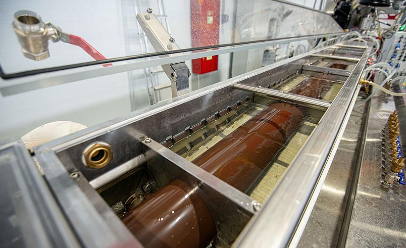 Экструзионная линия по выпуску водосточных систем из ПВХ на новом заводе «ТЕХНОНИКОЛЬ» в ТОР «Хабаровск»