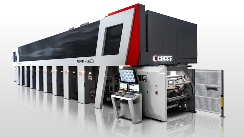 Машина для глубокой печати на пленках нового поколения модели EXPERT RS 6003, которая позволит пользователям глубокой печати решать современные задачи рынка