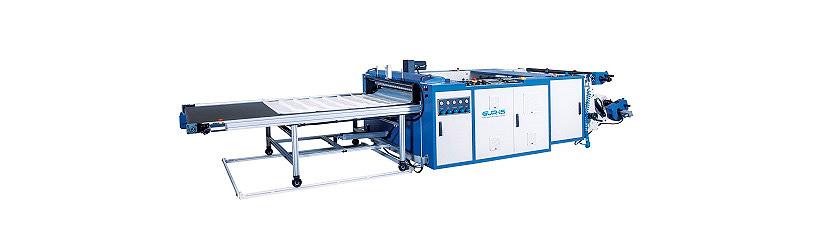 Автоматическая линия Gur-is Makina модели BSF-1200 для производства пакетов типа «фасовка» с 2 ручьями. Фото: «Европолимер-Трейдинг»