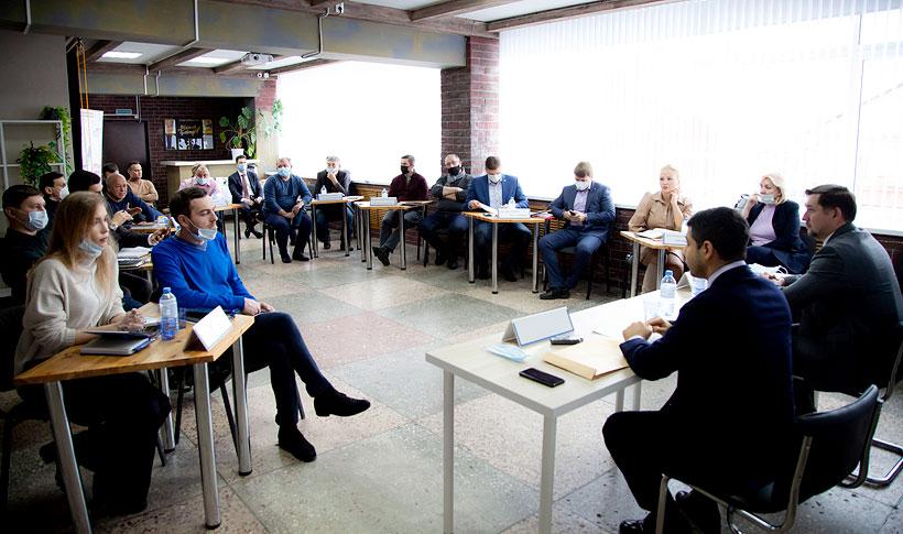 Руководство Башкирской содовой компании в рамках программы по поддержке малого и среднего бизнеса встретилось с членами ассоциации предпринимателей Стерлитамака
