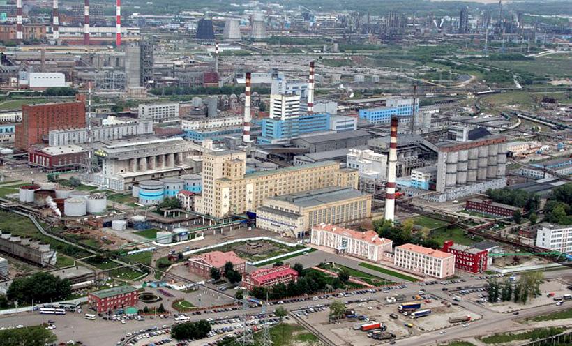 Заводы по производству поливинилхлорида и соды «Башкирской содовой компании» в Стерлитамаке, Башкортостан
