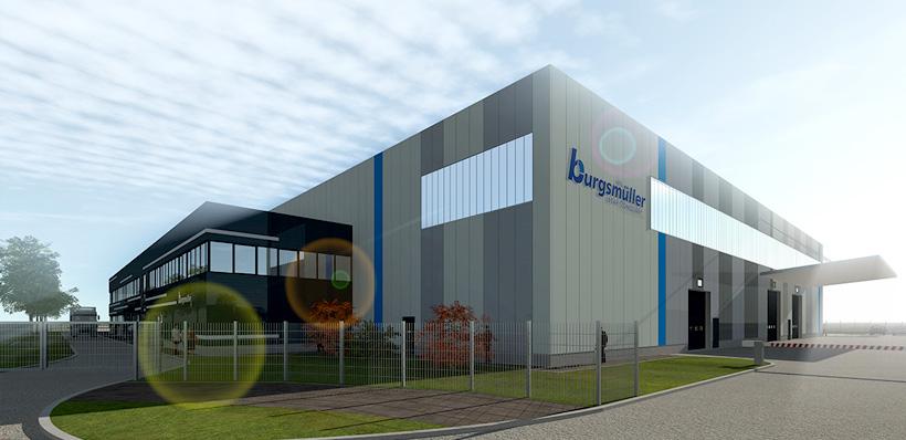 Завод Burgsmüller GmbH в городе Айнбеке (Einbeck) на юге Нижней Саксонии