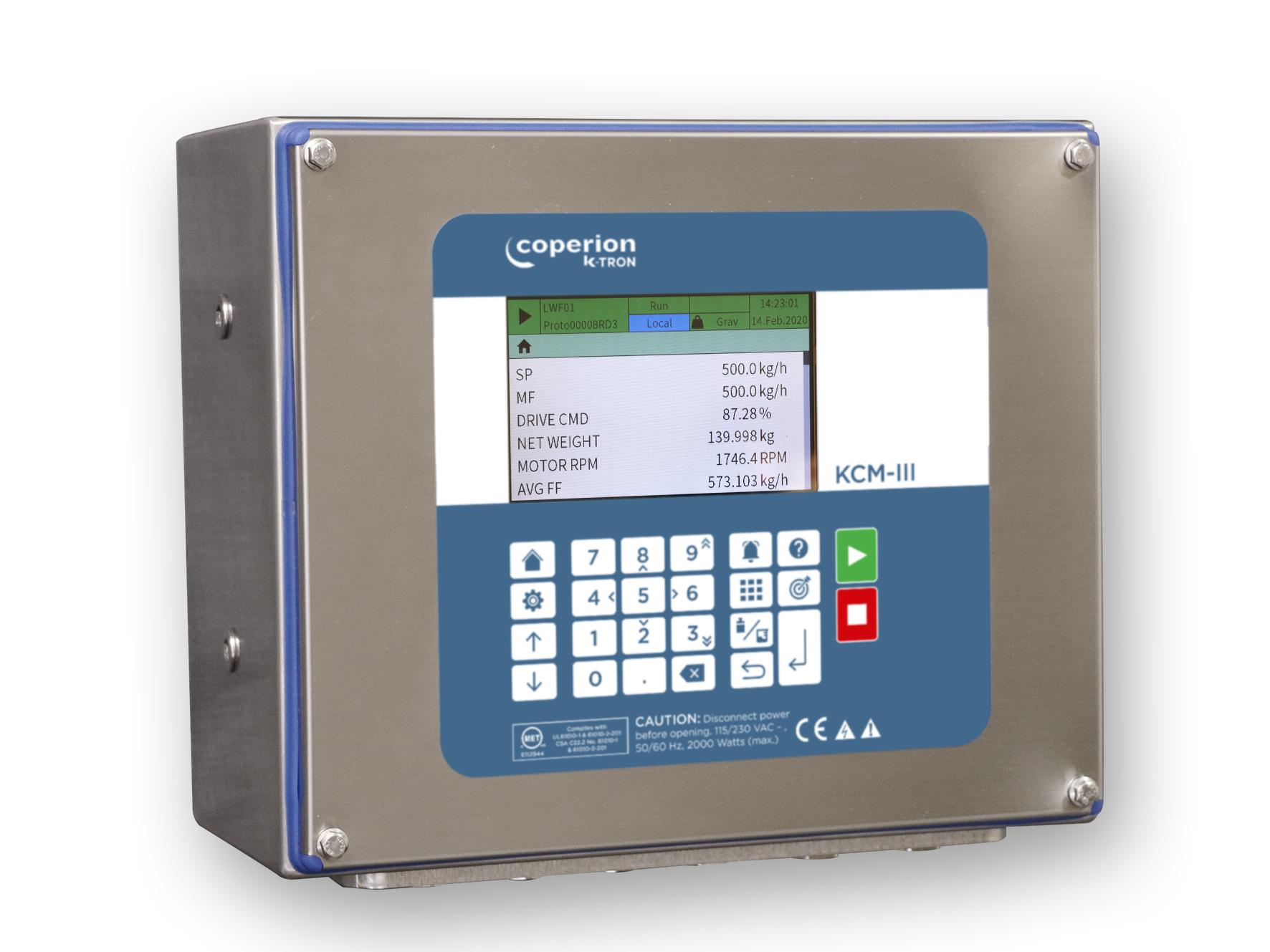 Контроллер Coperion K-Tron KCM-III для управления дозаторами полимерного сырья