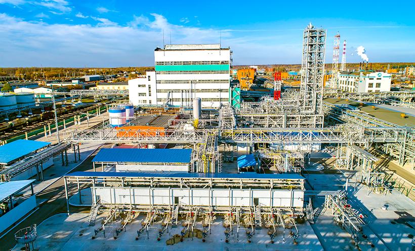 Завод «ДМЭ Аэрозоль» — совместное предприятие компаний «Щекиноазот» (Тульская область) и  PCC SE