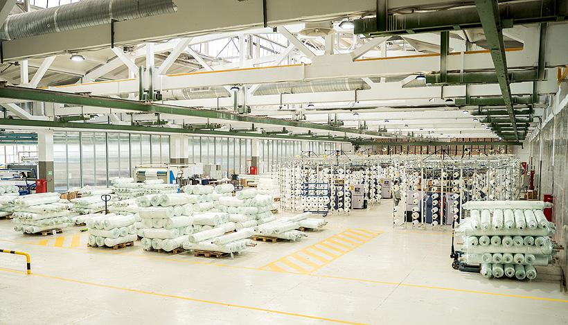 Мощности предприятия позволяют изготавливать 85 т трикотажного полотна в месяц