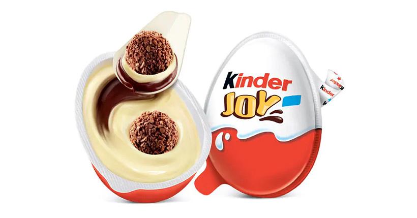 Ferrero заменит пластмассовую ложку для шоколадных яиц Kinder Joy на бумажную