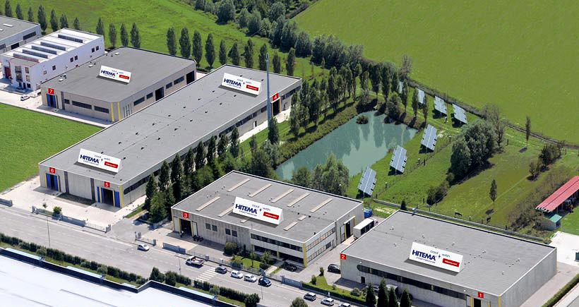 Завод по выпуску чиллеров компании Hitema в Италии