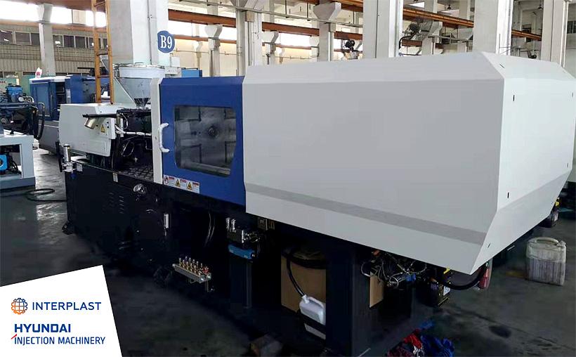 Гидравлический термопластавтомат производства Hyundai Injection Machinery модели EDIA 150 на предприятии «НПО МашСталь»