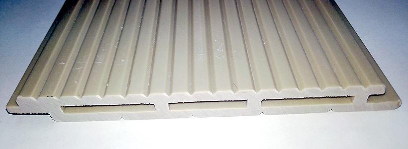 Облицовочный профиль из термопластичного полимера и минерального наполнителя. Фото: ИРНИТУ