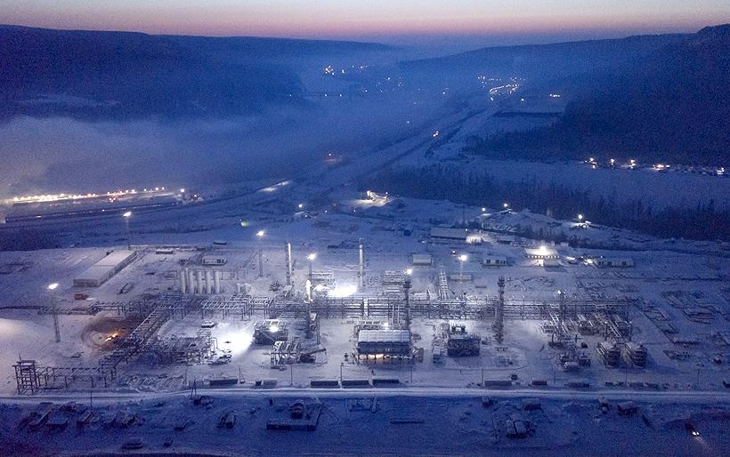 Строительство Иркутского завода полимеров (ИЗП). Декабрь 2020