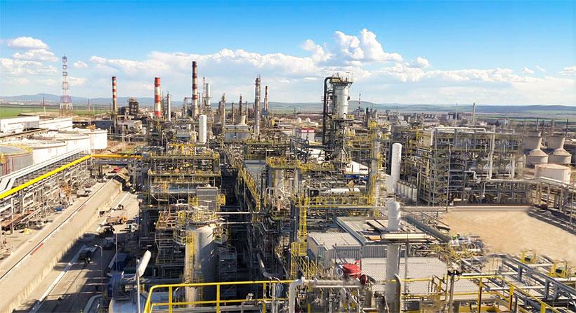 Нефтеперерабатывающий завод «ЛУКОЙЛ Нефтохим Бургас», расположенный на Балканском полуострове в 15 км от Бургаса