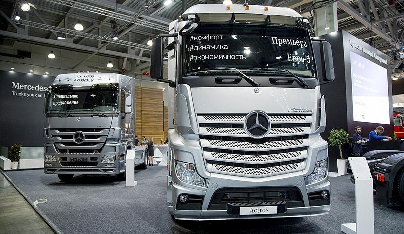 Тягач Mercedes-Benz Actros экологического класса Евро-6. Фото: