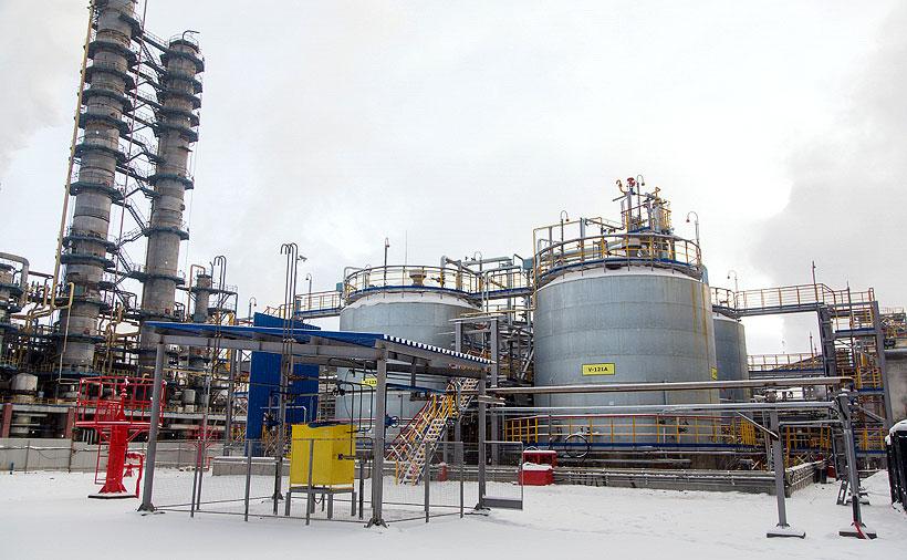 Новый производственный объект «Нижнекамскнефтехим» по выпуску дивинил-стирольного каучука (ДССК)