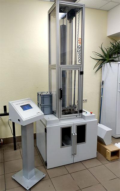 Компактный копер для испытаний труб, пластин и профилей Noselab ATS