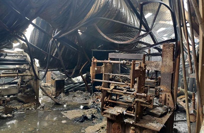 Пожар на заводе «Трасса-С» (ТМ
