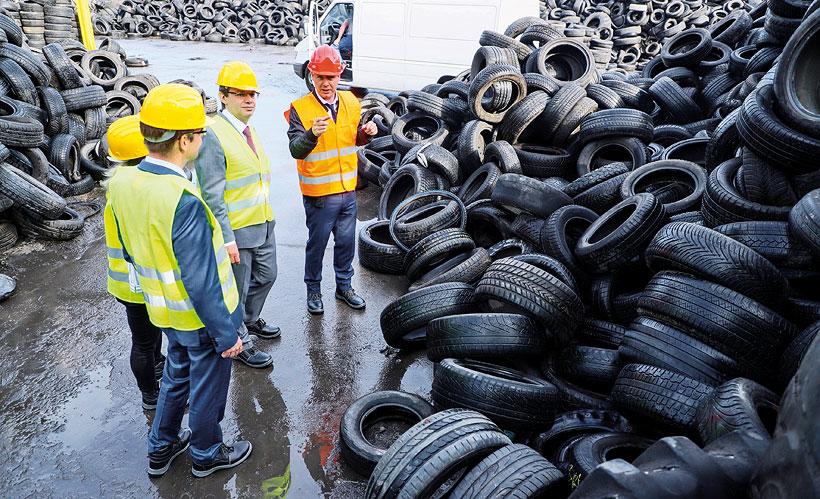 Концерн BASF и компания New Energy заключили ряд соглашений по применению пиролизного масла, полученного из отработанных шин