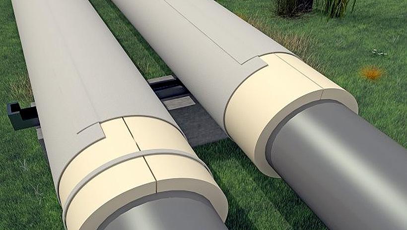 Изоляции трубопроводов с помощью ПВХ-мембран. «ТЕХНОНИКОЛЬ»