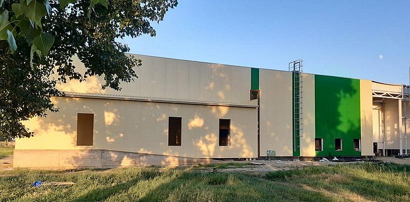 Строительство здания завода по выпуску полипропиленовых мешков агрообъединения «Рассвет»
