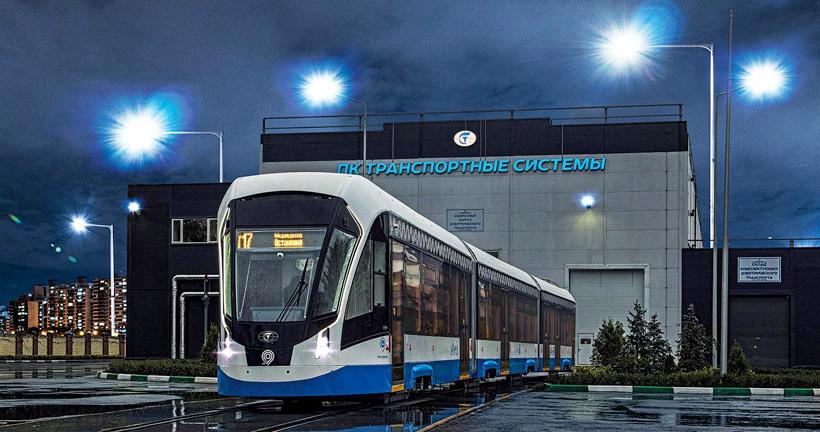 Производственная площадка ПК Транспортные системы в Санкт-Петербурге