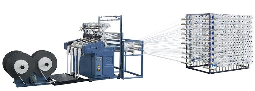 Экструзионные линии  2-, 4- и 6-струйные для производства строп. «Алеко Машинери»